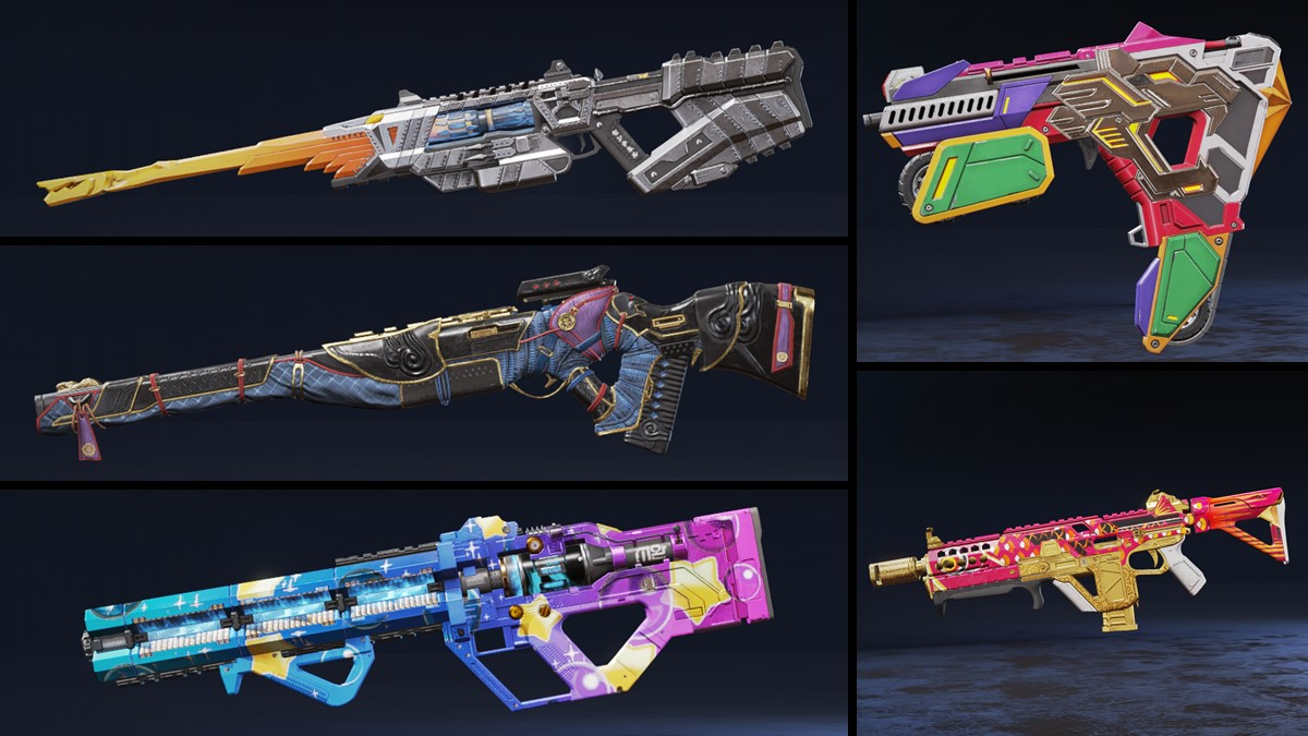 Genesis Collection weapon skins