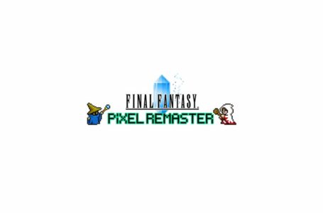 What is the release date of Final Fantasy Pixel Remaster I, II, and III?