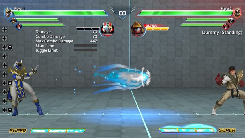Power Rangers: Battle for the Grid Chun-Li Fireball