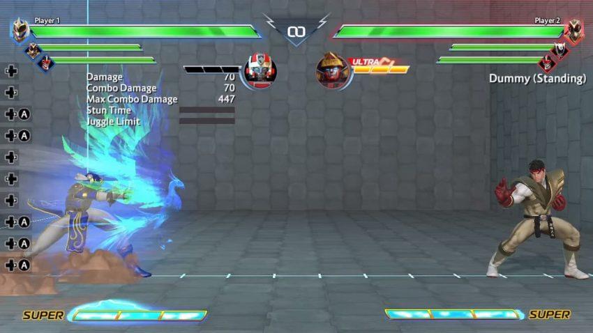 Power Rangers: Battle for the Grid Chun-Li Blue Phoenix