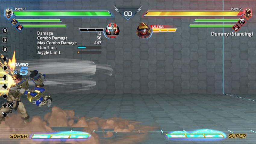 Power Rangers: Battle for the Grid Chun-Li Spinning Bird Kick