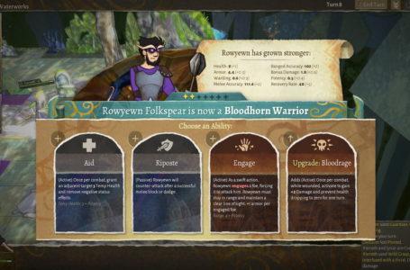 The best warrior abilities in Wildermyth