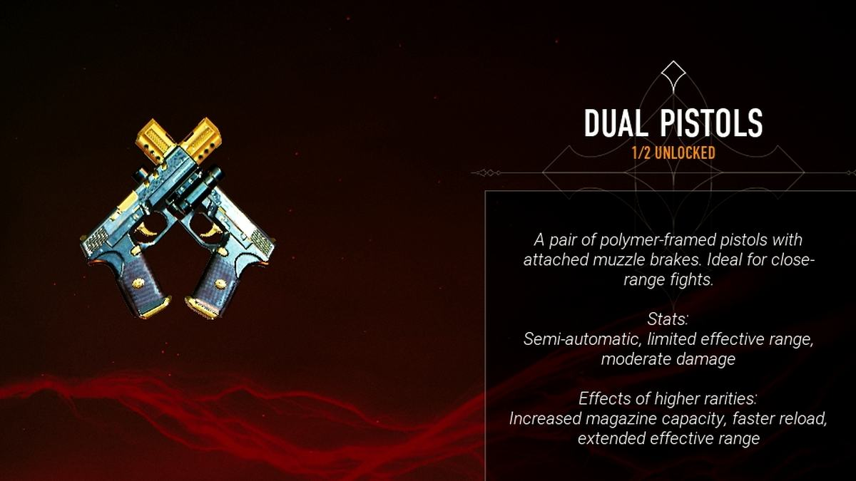 Bloodhunt Dual Pistols weapons