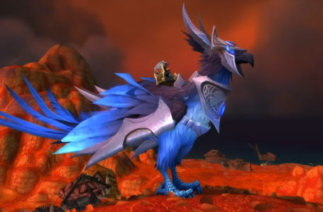What is the Sapphire Skyblazer in World of Warcraft: Shadowlands?