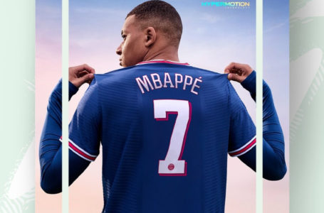 Kylian Mbappé is the cover star of FIFA 22