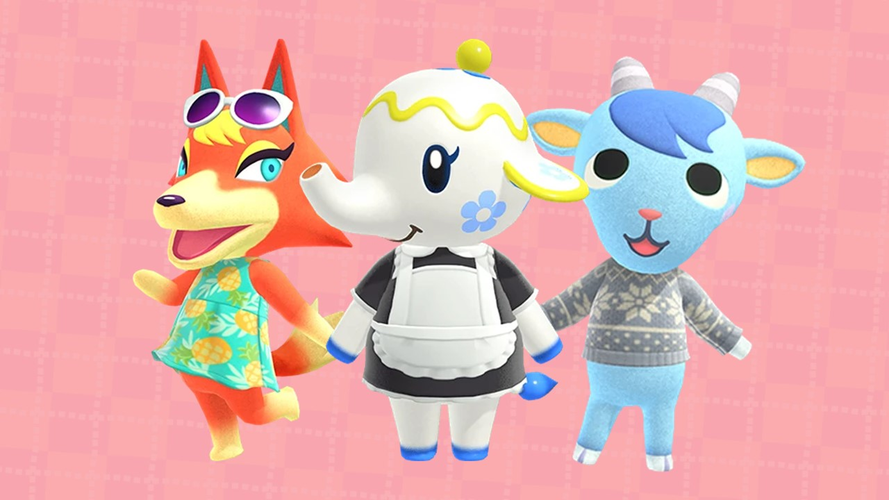 The cutest ACNH villagers