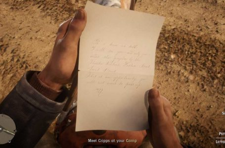 How to start Red Dead Online Blood Money content