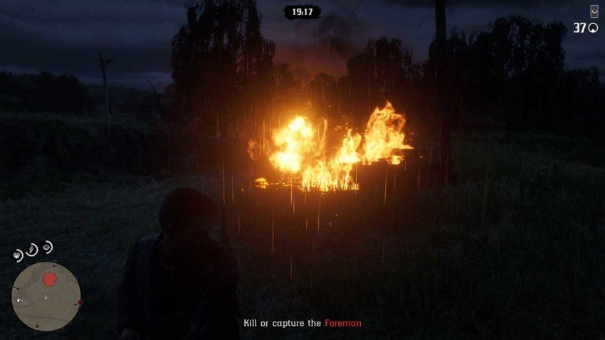set-a-fire-red-dead-online