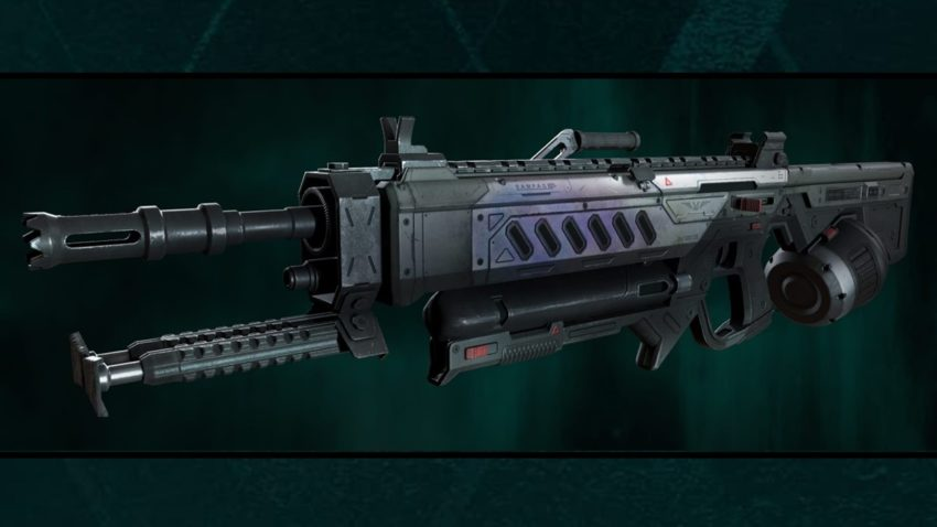 New weapon Rampage LMG