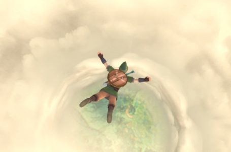 How to land from the air in The Legend of Zelda: Skyward Sword HD