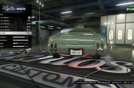How to get custom plates in Grand Theft Auto Online