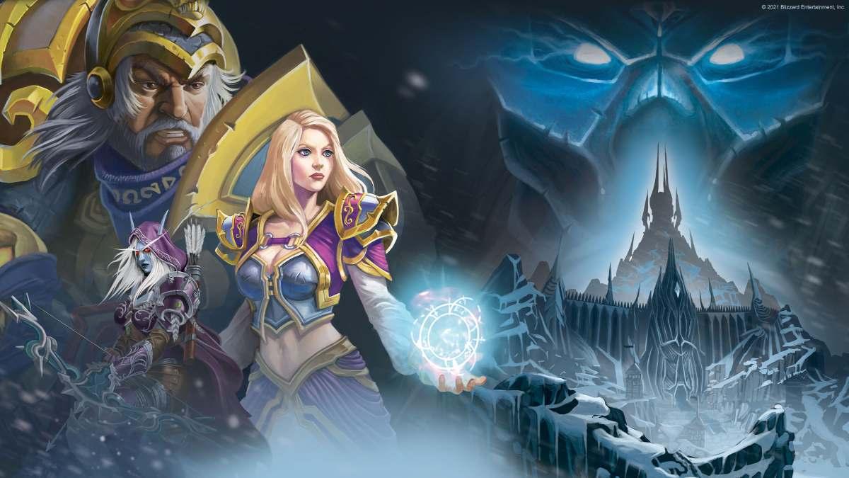 World of Warcraft wow Pandemic Lich king