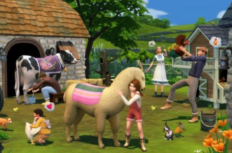 How to buy cows and llamas in The Sims 4