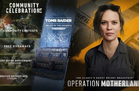 Ghost Recon: Breakpoint to get new Operation, Tomb Raider celebration, and more this year
