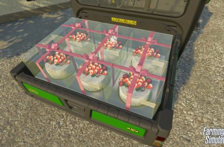 Farming Simulator 22 production chains let you make and sell cake