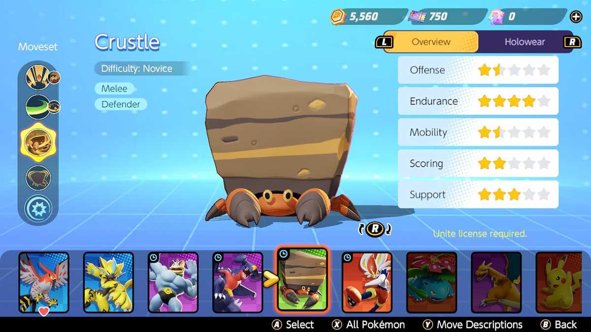 crustle-pokemon-unite
