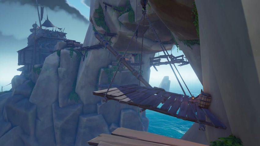 Sea of Thieves Glorious Sea Dog Tavern Jump