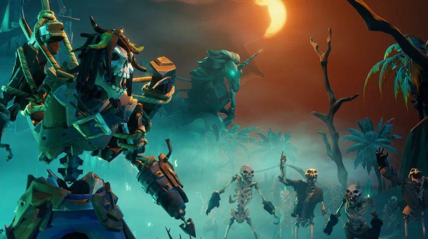 Sea of Thieves Skeletons