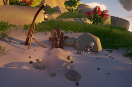 The grave robber on Wanderers Refuge – Sea Of Thieves riddle guide