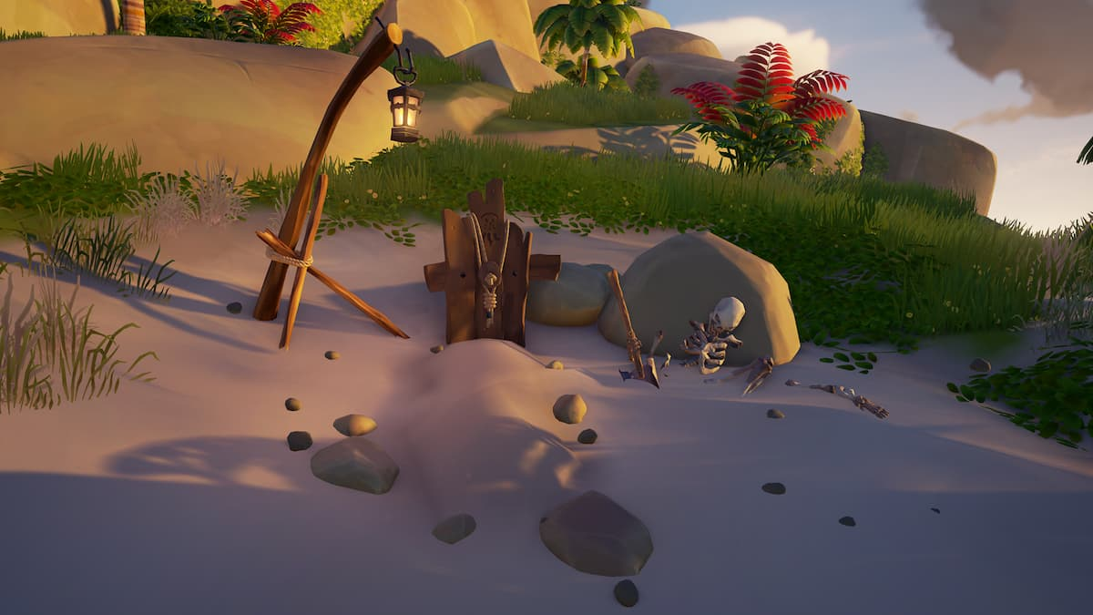 Grave Robber Wanderers Refuge riddle Sea of Thieves