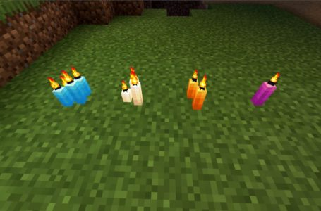 How to light candles in Minecraft
