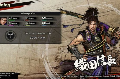 Character upgrade tips and tricks for Samurai Warriors 5
