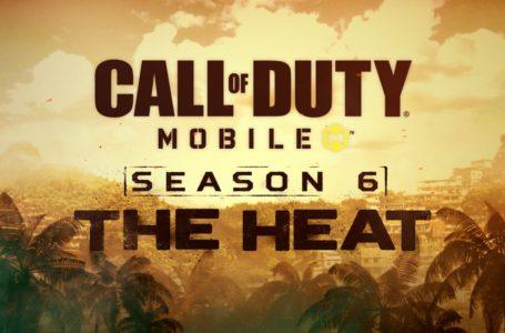 "Call of Duty: Mobile Season 6 ""The Heat"" announced"