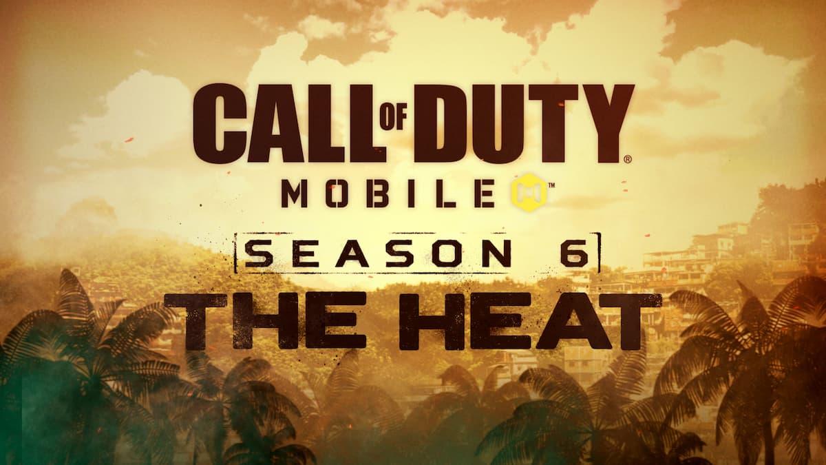 COD Mobile Season 6 The Heat Release Date Battle Pass Rewards Ranked Series 3