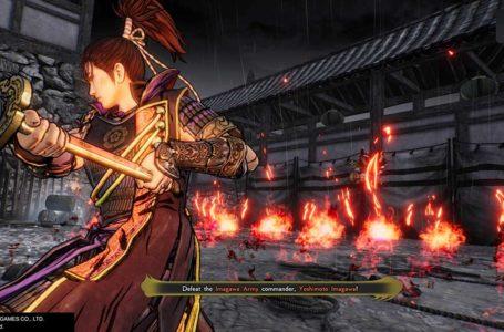 Tips for beating Yoshimoto Imagawa in Samurai Warriors 5