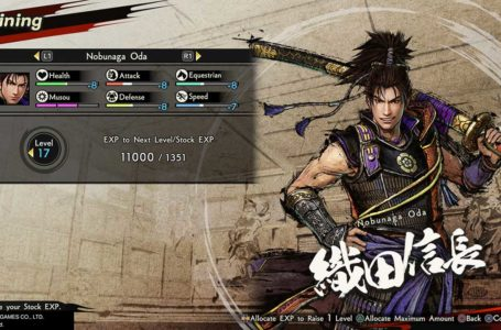 How to level up fast in Samurai Warriors 5