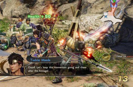 How to heal in Samurai Warriors 5