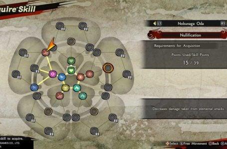 Best skills to get first for Nobunaga Oda in Samurai Warriors 5