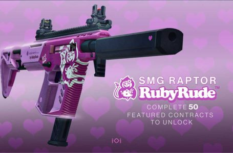How to unlock the SMG Raptor by RubyRube in Hitman 3
