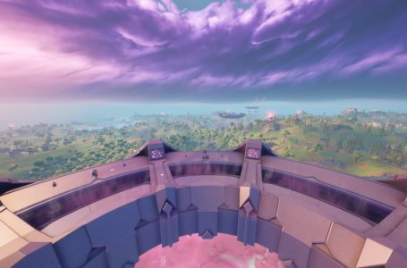 Entire sections of the Fortnite island are about to get abducted by aliens