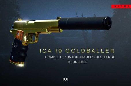 How to unlock the ICA 19 Goldballer in Hitman 3