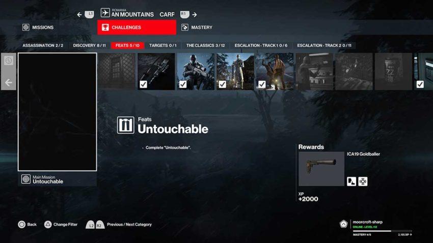 untouchable-challenge-hitman-3