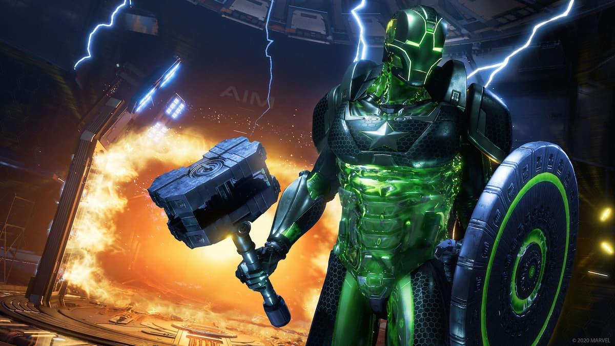Marvel's Avengers Omega Level Threat Family Reunion Super Adaptoid