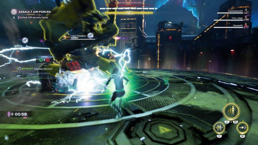 Marvel's Avengers Omega-Level Threat Family Reunion