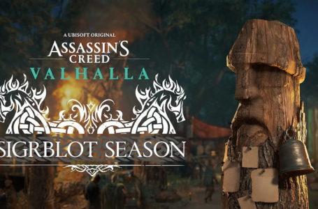 When does Sigrblot Season start in Assassin's Creed Valhalla?