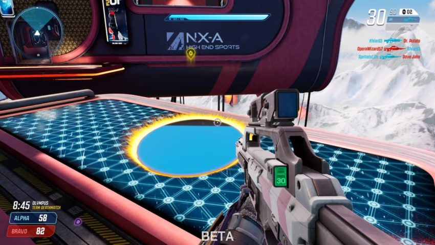 Splitgate Portal Kill