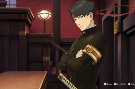 What is Story Mode and what does it do in The Great Ace Attorney Chronicles?