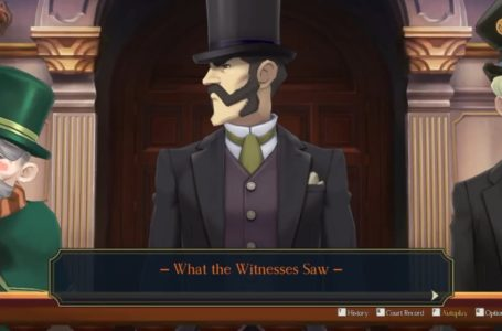 """How to complete the """"What the Witnesses Saw"""" cross-examination in The Adventure of the Runaway Room – The Great Ace Attorney Chronicles"""