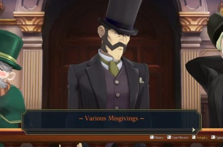 """How to complete the """"Various Misgivings"""" cross-examination in The Adventure of the Runaway Room – The Great Ace Attorney Chronicles"""