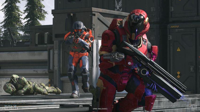 Halo Infinite tech preview