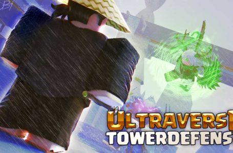 Roblox Ultraverse Tower Defense codes (August 2021)