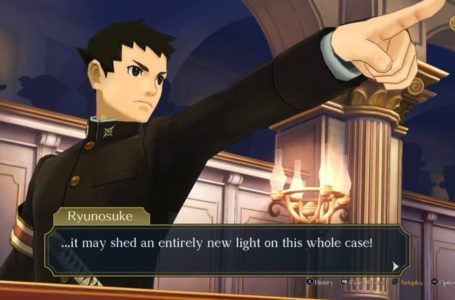 """How to find the """"entrance"""" Mason used in the omnibus in The Adventure of the Runaway Room – The Great Ace Attorney Chronicles"""