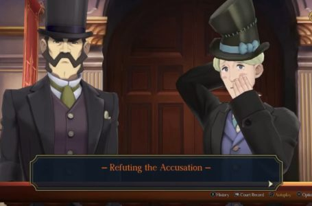 How to complete the Refuting the Accusation cross-examination in The Adventure of the Runaway Room – The Great Ace Attorney Chronicles