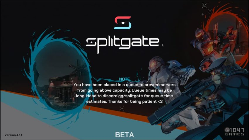 Splitgate servers