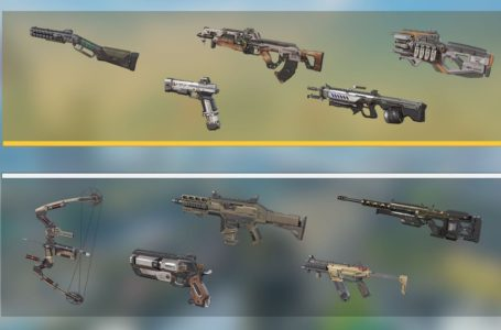 Fully Kitted Weapon rotation for Apex Legends Season 10: Emergence