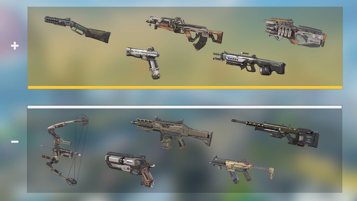 Fully Kitted Gold Weapons for Season 10